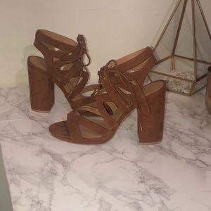 Strapped Sandal Heels